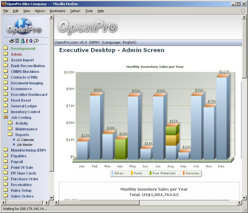 Job Cost Project Management Module